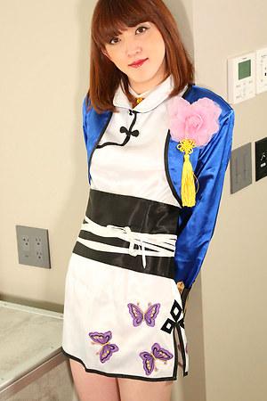Hung Honey japan tranny Mari Sora!